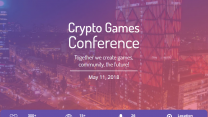 Kyiv to Host the World's First Crypto Games Conference - May 11th, 2018.