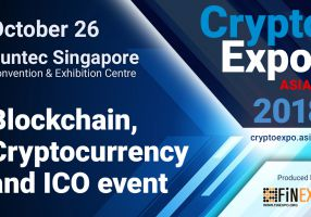 Crypto EXPO Asia going live alongside with Singapore Traders Fair in Singapore will become one event of a kind