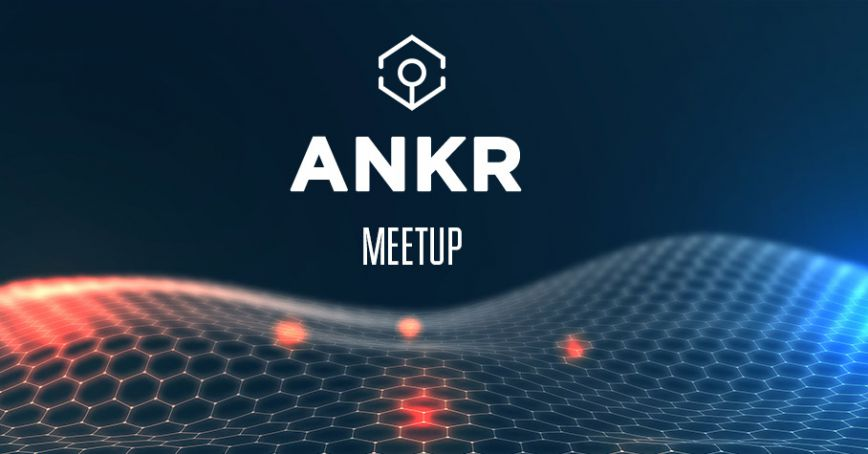 Meetup with Ryan Fang, co-founder of Ankr Network