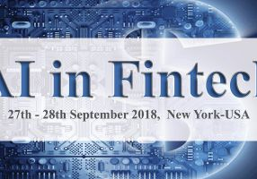 Artificial Intelligence Fintech Confex,  27th and 28th of September 2018, New York, USA