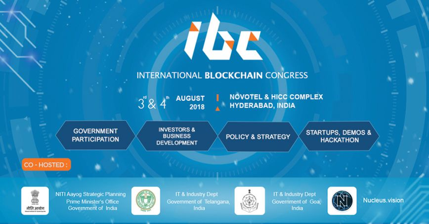 International Blockchain Congress, 3-d - 4 th of August