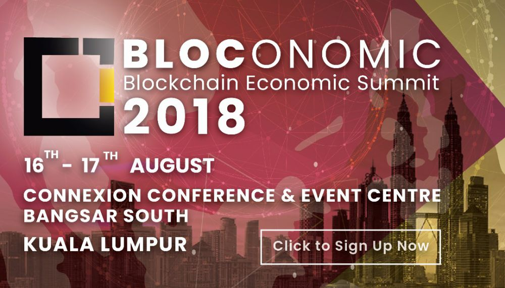 Blockchain Economic Summit (Bloconomic) 2018