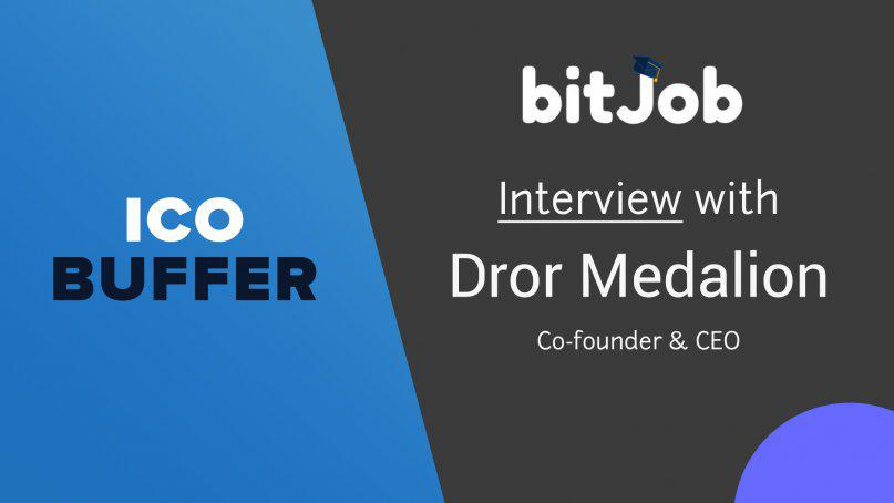 Interview with BitJob CEO - Dror Medalion