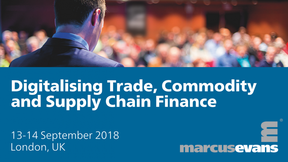 Digitalising Trade, Commodity and Supply Chain Finance