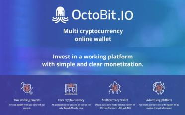 OctoBit.IO - Online Wallet & Advertising Network ready to go